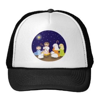 Nativity of the Lord Mesh Hats