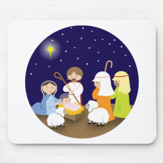 Nativity of the Lord Mousepads