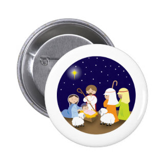 Nativity of the Lord Pinback Button