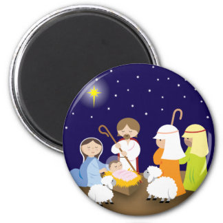Nativity of the Lord Refrigerator Magnets