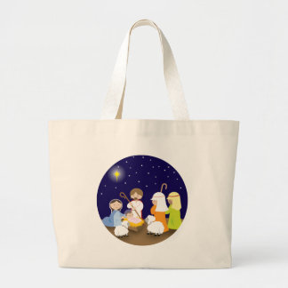 Nativity of the Lord Tote Bags
