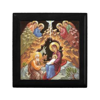 Nativity of the Savior Jewelry Box