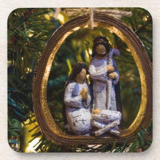 Nativity Ornament Coaster