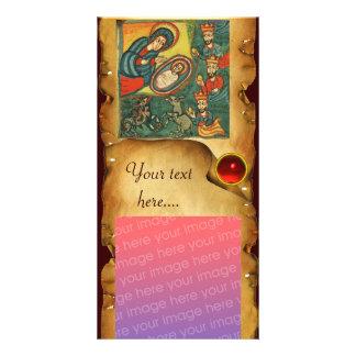 NATIVITY PARCHMENT CARD