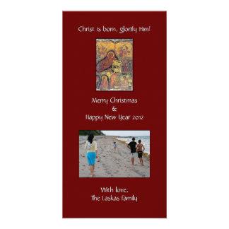 Nativity Photo Photo Card