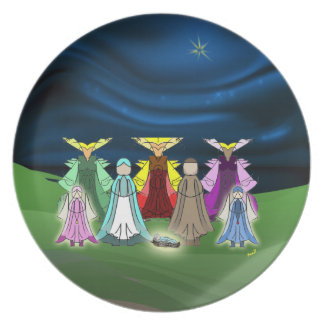 Nativity Plate