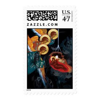 Nativity Post Stamp