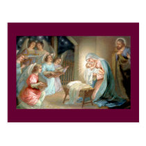 Nativity Postcard