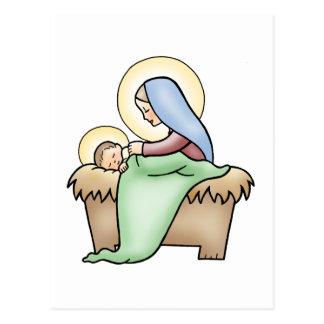Nativity Postcard
