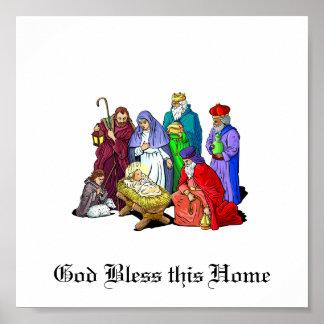 Nativity_Print Poster