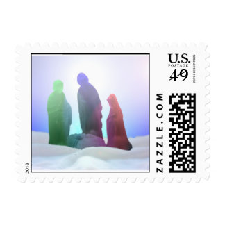 Nativity Radiance Postage Stamp