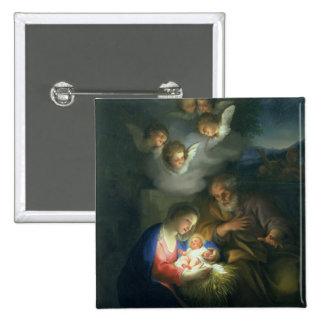 Nativity Scene Buttons