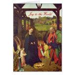 Nativity Scene by Petrus Christus Card