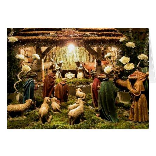 Christmas Card Nativity Scene | New Calendar Template Site