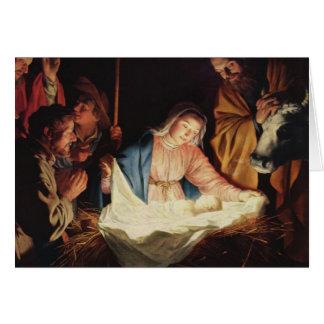 Nativity Scene Greeting Cards
