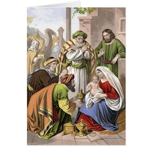 Nativity Scene Cards