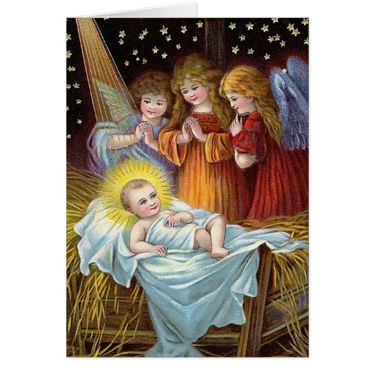 """Nativity Scene"" Christmas Card"