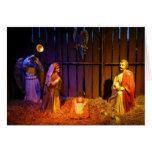 Nativity Scene Christmas Holiday Display Card