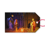 Nativity Scene Christmas Holiday Display Gift Tags