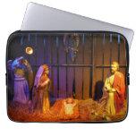 Nativity Scene Christmas Holiday Display Laptop Sleeve