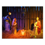 Nativity Scene Christmas Holiday Display Photo Print