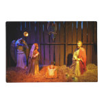 Nativity Scene Christmas Holiday Display Placemat