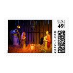 Nativity Scene Christmas Holiday Display Postage