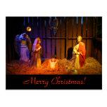 Nativity Scene Christmas Postcard