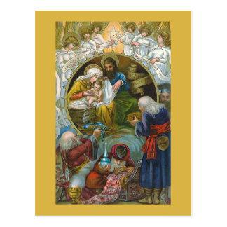 """Nativity Scene"" Christmas Postcard"