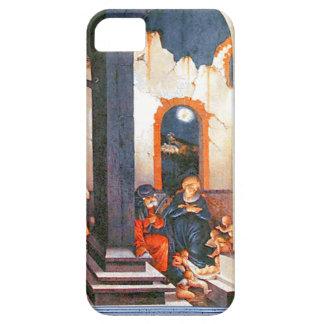 Nativity scene, classic art iPhone SE/5/5s case