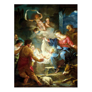Nativity Scene for Christmas - Pierre Postcards