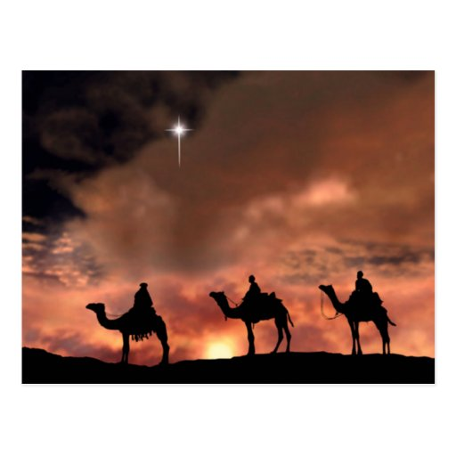 Nativity Scene Gifts for Christmas Post Card