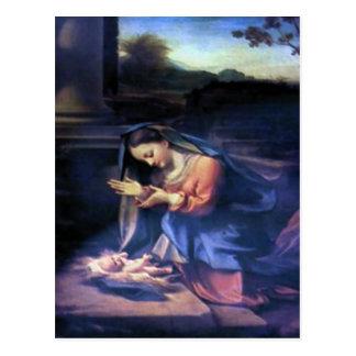 Nativity Scene Gifts for Christmas Postcard