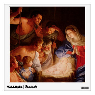 Nativity Scene Gifts for Christmas Wall Decal