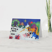 Nativity Scene Holiday Card