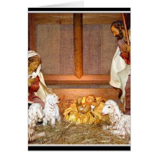 Nativity Scene/Holy Family Card