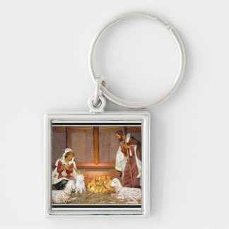 Nativity Scene/Holy Family Keychain