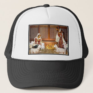 Nativity Scene/Holy Family Trucker Hat