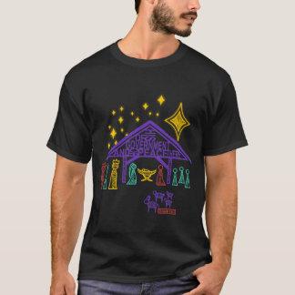 Nativity Scene - Isaiah 9:6-7 Christmas T-Shirt