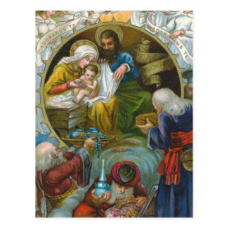 """Nativity Scene"" Postcard"