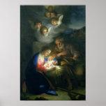Nativity Scene Poster