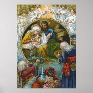 """""""Nativity Scene"""" Poster"""