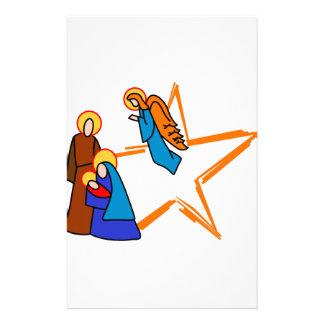 Nativity Scene Stationery