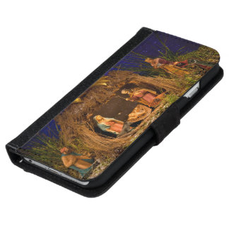 Nativity scene wallet phone case for iPhone 6/6s
