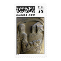 Nativity Scene with Mary and the Child Postage