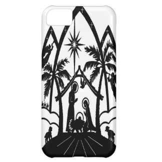 Nativity silhouette cover for iPhone 5C