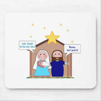 Nativity Sin Mouse Pad