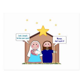 Nativity Sin Postcard