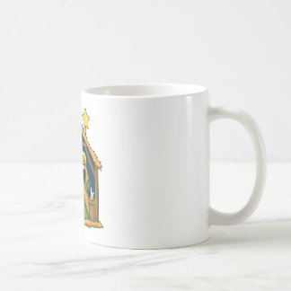 Nativity Stable Scene Coffee Mug