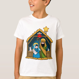 Nativity Stable Scene T-Shirt